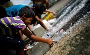 צפו: מצב הומניטרי קשה בוונצואלה (צילום: רויטרס, חדשות)