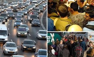 משבר התחבורה הציבורית (צילום: ארז דין, Flash 90, חדשות)