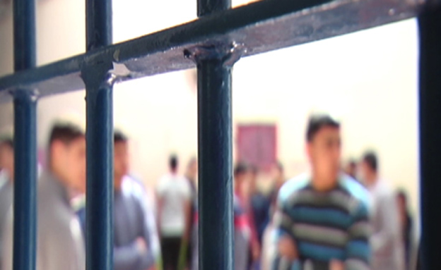 """""""קנוניה עם האסירים"""" (צילום: חדשות 2)"""