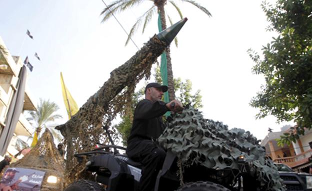 טילים אירניים שבידי חיזבאללה (צילום: רויטרס, חדשות)