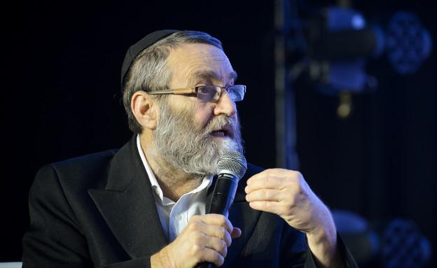 משה גפני בוועידה בתל אביב (מרץ 2019) (צילום:  הדס פרוש, נועם רבקין פנטום, פלאש90, פלאש 90)