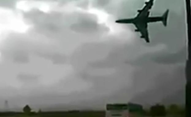 התרסקות המטוס באתיופיה (צילום: פייסבוק\ Gist String)