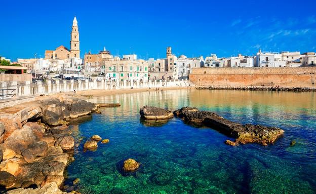 העיר מונופולי, איטליה (צילום: Vladimir Sazonov, Shutterstock)