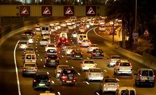 ישראל בראש טבלת הצפיפות בכבישים ב-OECD (צילום: משה שי, Flash 90, חדשות)