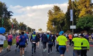 מרתון ירושלים (צילום: tps, חדשות)
