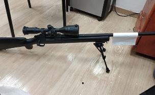עסקת סחר בנשק (צילום: דוברות משטרה, חדשות)