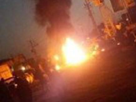 המחאה בעזה, אתמול (צילום: חדשות)