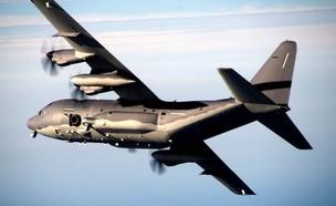 מטוס קרב AC-130J  (צילום: RCDefense@Twitter)