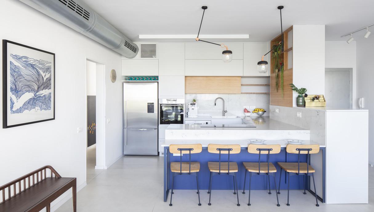 דירה בתל אביב, עיצוב סטודיו 37 - 1