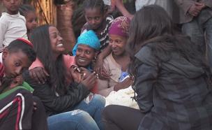 פרויקט משפחות מפוצלות באתיופיה (צילום: החדשות)