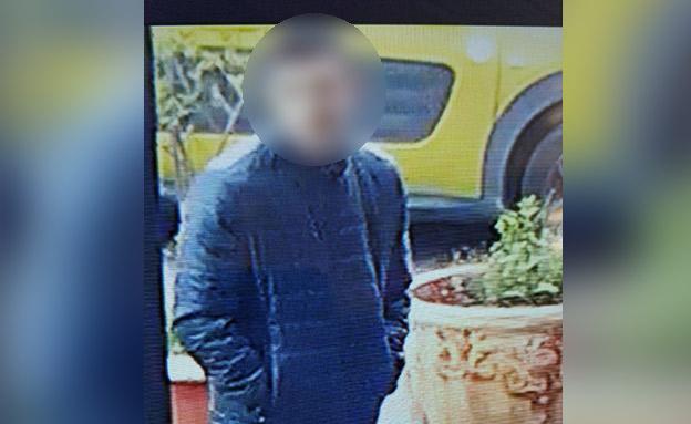 פלסטיני החשוד בפיגוע (צילום: חדשות)