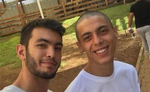 אלכס דבורסקי (מימין) ואחיו (צילום: באדיבות המשפחה, חדשות)