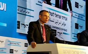 יריב לוין (צילום: עזרי עמרם, חדשות 2)