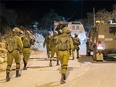 """דיווח: הרוג מאש צה""""ל ליד בית לחם (צילום: דובר צה""""ל)"""