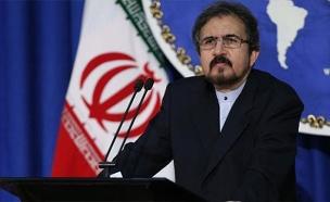 בהראם קאסמי, דובר משרד החוץ האירני (צילום: חדשות)