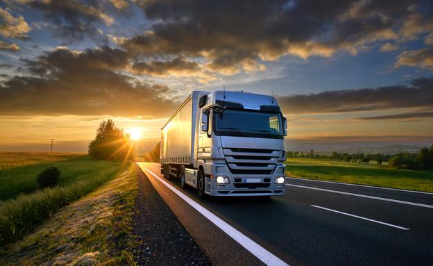 משאית אילוסטרציה (צילום: kateafter | Shutterstock.com )