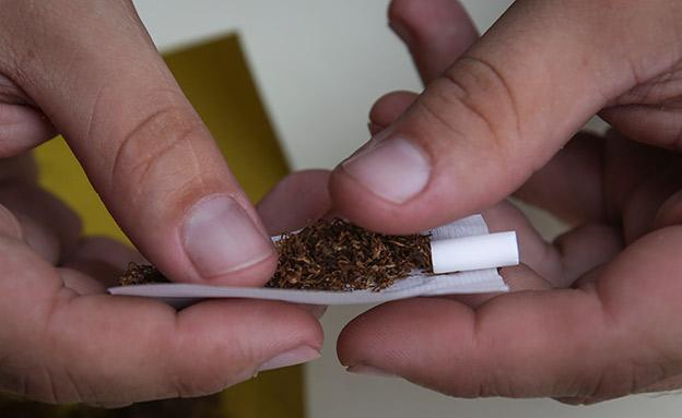 טבק לגלגול. התייקרות דרמטית (צילום: הדס פארוש, פלאש 90, חדשות)