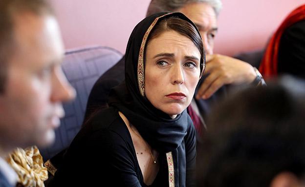 ראש ממשלת ניו זילנד אוסרת החזקת נשק (צילום: AP, חדשות)