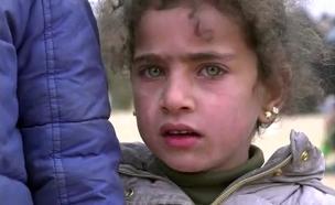 פינוי אזרחים בסוריה (צילום: ENEX, חדשות)