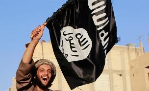 הארגון עם הדגל השחור הניף דגל לבן (צילום: רויטרס, חדשות)