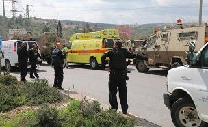 זירת פיגוע, ארכיון (צילום: איתן שוייבר/TPS, חדשות)