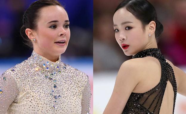 יריבות או טעות? (צילום: NBC NEWS, יוטיוב\U.S. Figure Skating)