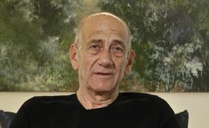 """אהוד אולמרט במתקפה על נתניהו (צילום: מתוך """"חדשות הבוקר"""" , קשת 12)"""