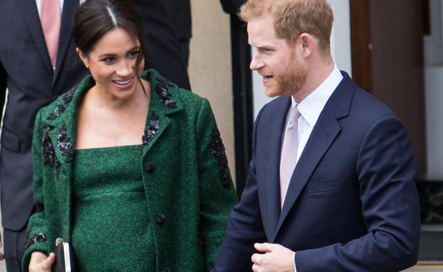 מייגן מרקל והנסיך הארי (צילום: Mr Pics / Shutterstock.com)