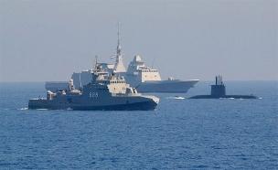 התעצמות חיל הים המצרי (צילום: חדשות)