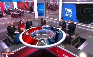 סקר המנדטים של החדשות: צפו (צילום: החדשות)