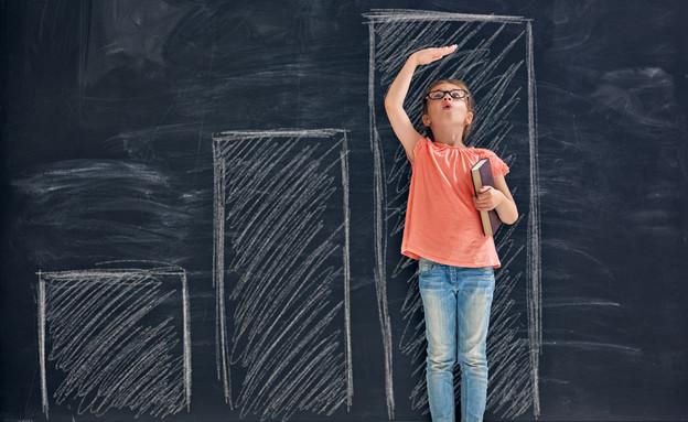 ילד מודד גובה (אילוסטרציה: kateafter   Shutterstock.com )