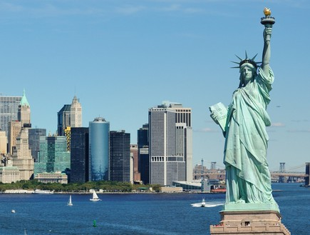 פסל החירות בניו יורק (צילום: Sean Pavone, shutterstock)
