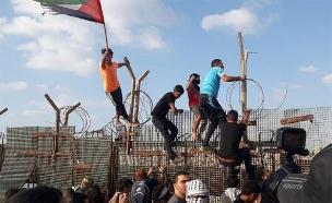חשש מפני סוף שבוע אלים על הגדר (צילום: חדשות)