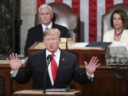 טראמפ מרוצה, הדמוקרטים ספקנים. טרמפ פלוסי ושומר