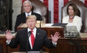 טראמפ מרוצה, הדמוקרטים ספקנים. טרמפ פלוסי ושומר (צילום: AP, חדשות)