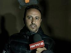 אליאב וענונו תושב שדרות שביתו נפגע (צילום: החדשות)