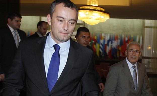 """שליח האו""""ם למזרח התיכון, ניקולאי מלדנוב (צילום: רויטרס, חדשות)"""