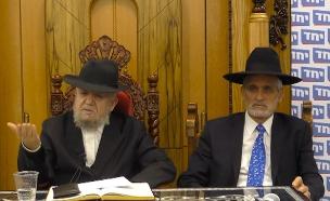 אלי ישי והרב מאזוז (צילום: חדשות)