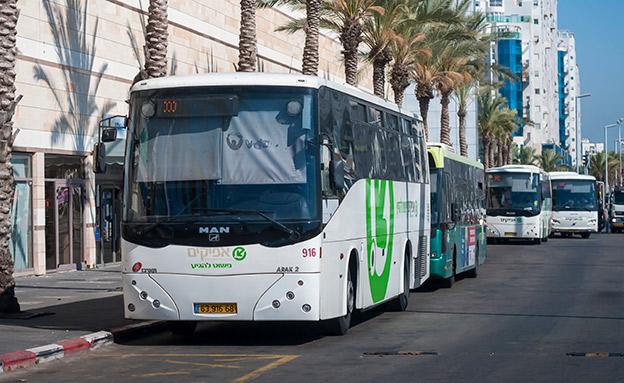 """אוטובוס של """"אפיקים"""". אילוסטרציה (צילום: 123RF, חדשות)"""
