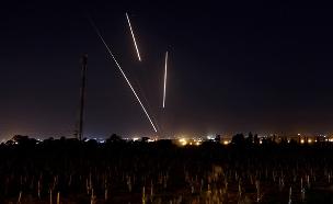 ירי רקטות מעזה (צילום: רויטרס, חדשות)