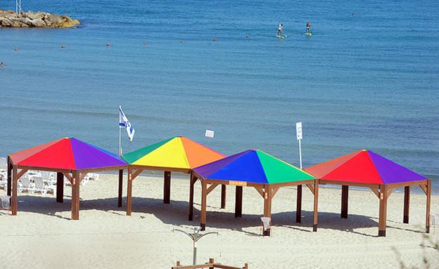 חוף הילטון (צילום: כפיר סיון, עיריית תל אביב יפו)