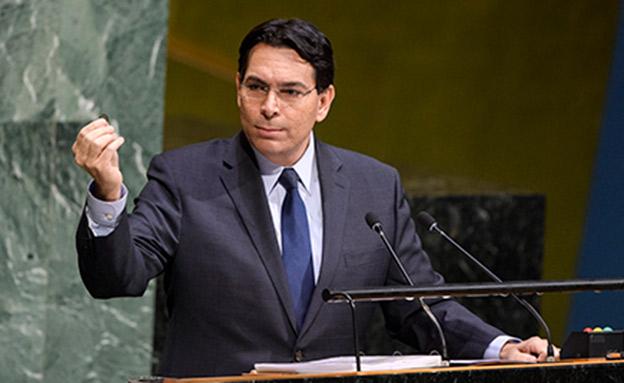 """שגריר ישראל באו""""ם דני דנון (ארכיון) (צילום: UN Photo / Manuel Elias, חדשות)"""