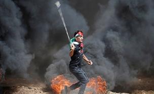 הפגנות בעזה (צילום: רויטרס, חדשות)
