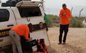 החיפושים אחר המטייל, היום (צילום: דוברות המשטרה, חדשות)