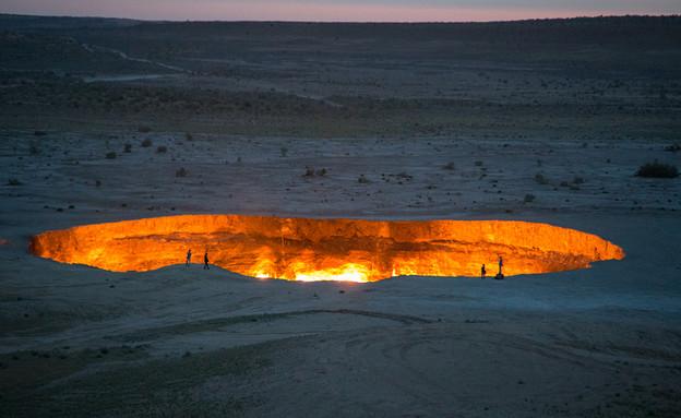 השער לגיהנום (צילום: Shutterstock - Iwanami Photos)