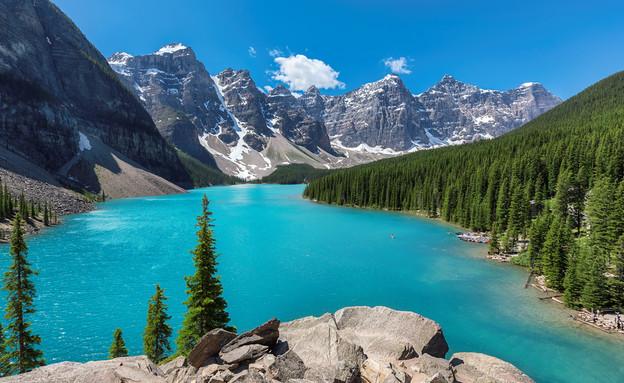 אגם מוריין (צילום: Shutterstock - Lucky-photographer)