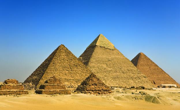 הפירמידות (צילום: Shutterstock - WitR)