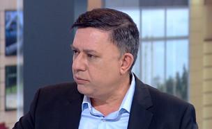 """אבי גבאי, יו""""ר מפלגת העבודה, בראיון (צילום: מתוך """"חדשות הבוקר"""" , קשת 12)"""