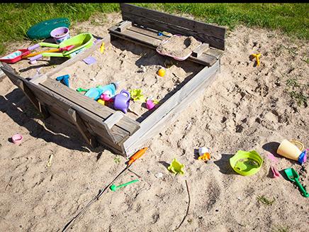ארגז חול, גן ילדים