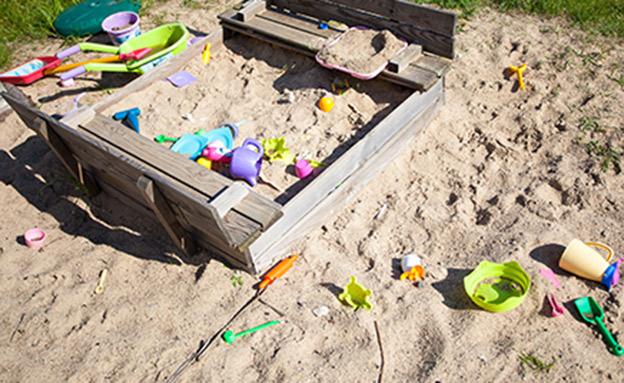 ארגז חול, גן ילדים (צילום: rf123, חדשות)